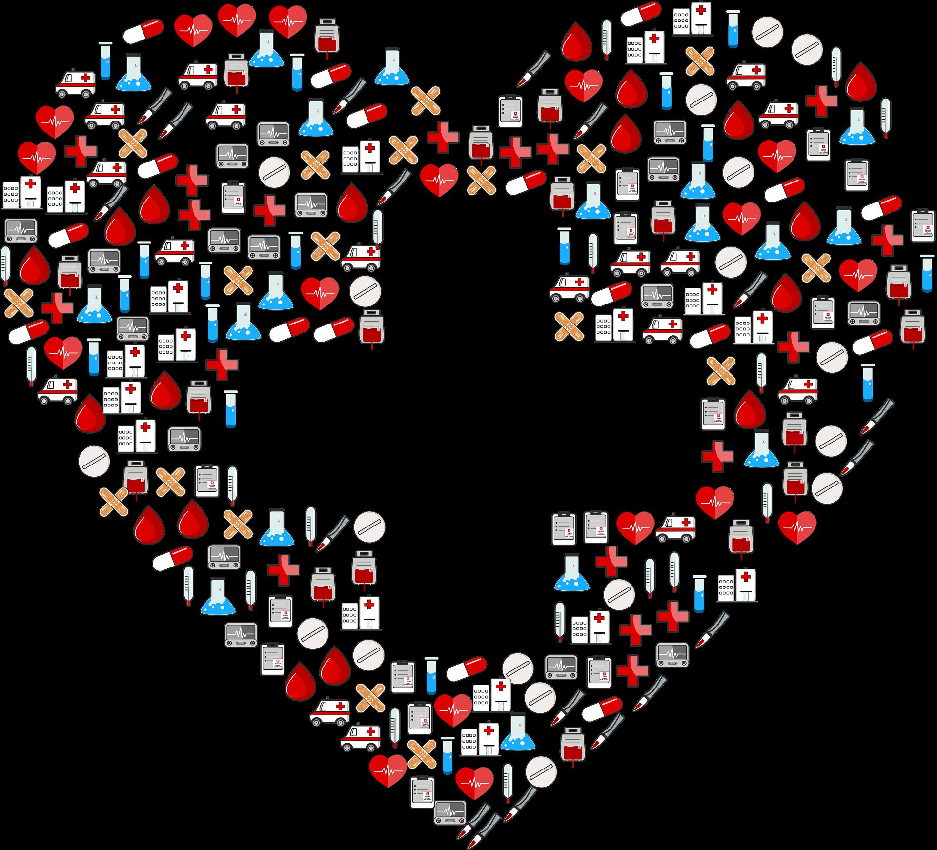 first aid heart